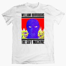 WILLIAM BURROUGHS 'The Soft Machine' T-shirt throbbing gristle bukowski ginsberg