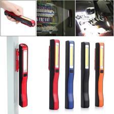 COB LED Pocket Pen Light Work Inspection Torch Lamp USB Rechargeable 4 Color