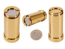 Nuevo Acabado Dorado £ 1 Una Libra Moneda sostenedor de la moneda Dispensador De Tubo De Moneda