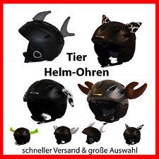 Helmohren/ Helmaufatz/ Ohren/Tierohren f. Skihelm/ Snowboardhelm: Elch Leo uvm.