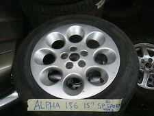 alfa romeo 156 alufelge & reifen 205/60/15
