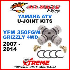 19-1003 Yamaha YFM350FGW Grizzly 4WD 2007-2014 All Balls U-Joint Kits