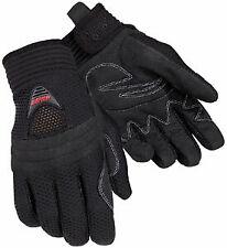 Tourmaster Black Airflow Women's Motorcycle Riding Gloves