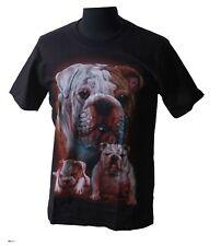 Maglietta BULLDOG INGLESE Bulldogg cani PUPPIES