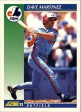 1992 Score Baseball #'s 501-750 - You Pick - Buy 10+ cards FREE SHIP