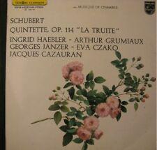 """CAZAURAN/HAEBLER/CZAKO quintette """"la truite"""" SCHUBERT++"""