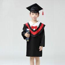 Graduation Hat Gown Cap Cloak Children Kids Kindergarten Costume Outfit Cute Set