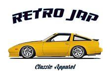 NISSAN 300ZX Z31 SWB t-shirt. RETRO JAP. CLASSIC CAR. MODIFIED. JDM.