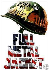 Full Metal Jacket FRIDGE MAGNET 6x8 Born To Kill Magnetic Movie Poster