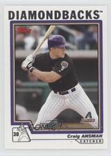 2004 Topps #302 Craig Ansman Arizona Diamondbacks Baseball Card