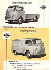 Tempo  Single Sheet  Set Of 2 Sheets   Viking   Line   Circa 1959
