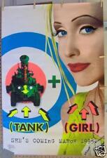 """TANK GIRL 27""""x40"""" PROMO POSTER ©1994 Lori Petty, Ice-T, Naomi Watts, Iggy Pop"""