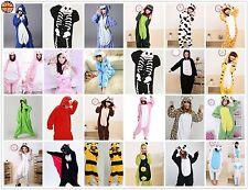 Mens Ladies Onesiee Animal Kigurumi Pajamas Sleepwear Hoodies Fancy DressCostume