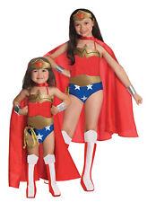 Licensed Wonder Woman Deluxe Girls Costume