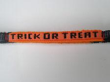 12 Handmade Friendship Bracelet Cotton  Trick or Treat