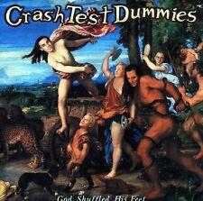 Crash Test Dummies God Shuffled His Feet CD EX Mmm Afternoons Coffeespoons