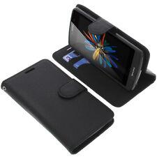Tasche für TP-Link Neffos C5L Book-Style Schutz Hülle Handytasche Buch
