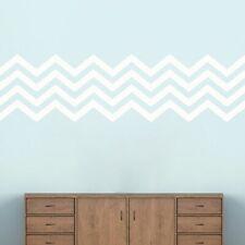 Chevron Stripes Wall Decal - Stripes, Wall Accents, Wall Art, Nursery, Bedroom
