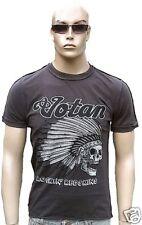 AMPLIFIED VOTAN Rockin'Redskins Indian Skull Rock Star Designer T-Shirt g.S