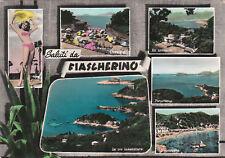 FIASCHERINO  - BELLEZZE AL BAGNO-5 VEDUTE  1958