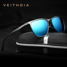 Veithdia Fashion Vintage Original Designer Sunglasses Men/Women Male Square Sun1