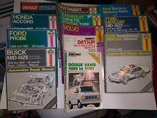 Car Manuals & Literature Service & Repair Manuals 1984-1994 TOYOTA ...
