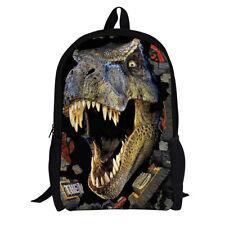 Newly Cartoon Schoolbag Animal Bag Cool 3D Dinosaur Backpack School