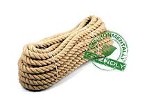 100% puro naturale Iuta Tela Di Iuta Corda Corda Intrecciato garden decking 16mm spessore