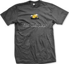Fish Whisperer- Boat Fishing Outdoors Funny Humor Sayings Mens T-shirt