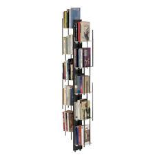 LE ZIE DI MILANO libreria da terra fissata a parete ZIA VERONICA faggio massello