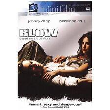 Blow (DVD, 2001) Johnny Depp Penelope Cruz Brand New sealed ships NEXT DAY