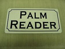 PALM READER Metal Sign 4 Boardwalk Carnival Penny Arcade Renn Renaissance Fair