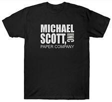 Michael scott paper company inc t shirt the office tv show dunder mifflin