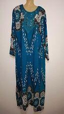 Abaya Maxikleid arabisches Sommerkleid Kleid Takschita Jellaba Djelaba L - XXXL