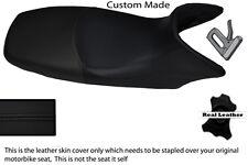 BLACK CUSTOM FITS HONDA XL 125 01-12 VARADERO LEATHER SEAT COVER
