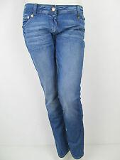 Denny Rose Denim Röhren Hose Pants Jeans Hellblau Neu S 26 27 28