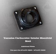 YAMAHA CARBURETOR INTAKE MANIFOLD BOOT YZ250 YZ360
