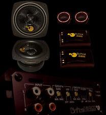 CRITICAL MASS CM454a 4'' BEST COMPONENT audio SPEAKER Amplifier focal jl USA NR