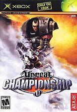 Unreal Championship  (Microsoft Xbox, 2003)@@Complete@@