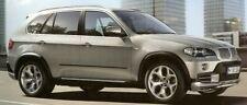 BMW E70 E70 LCI X5 2007-2013 Genuine Aluminum Low Profile Roof Rail Pair NEW OEM