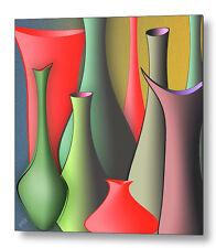 Vases Still Life Fine Art Print on Metal or Acrylic