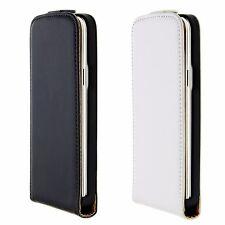 Flip Schutz Handy Hülle Apple Samsung Sony Cover Case Etui Schwarz Weiß