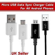 Rápido Micro USB Cable Cargador para Android Teléfono Tableta De Mejor Calidad vendedor del Reino Unido 1 M