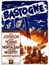 Battleground Van Johnson vintage movie poster print #2