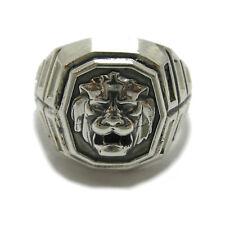 Genuine sterling silver men ring hallmarked solid 925 Lion R001780 Empress