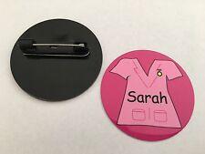 Personalised Nurse SCRUBS Design Badges - 60 Designs - Faces, Scrubs