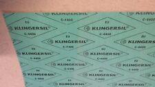 Dichtungsplatte Klingersil C-4400 Dichtung Dichtungspapier DVGW KTW