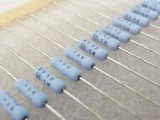 10 résistances couche métal 270R 1W 5% Panasonic