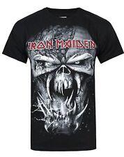 Official Iron Maiden - Final Frontier Eddie Vintage - Men's Black T-Shirt