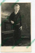 Real Photo Postcard-SMITH Family Older Boy (Herbert)